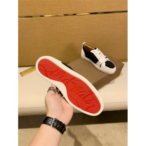 Replica Christian Louboutin CL Casual Shoes For Men #823440 $72.00 USD for Wholesale
