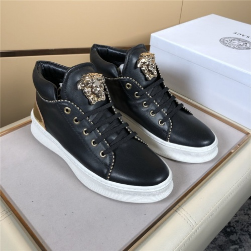 Versace High Tops Shoes For Men #823447