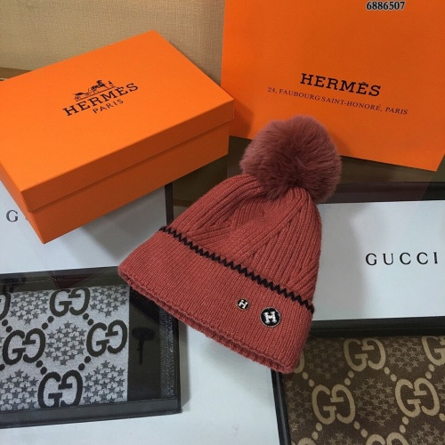 Hermes Woolen Hats #823459 $32.00, Wholesale Replica Hermes Caps