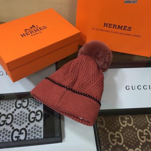 Replica Hermes Woolen Hats #823459 $32.00 USD for Wholesale