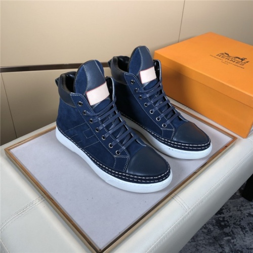 Hermes High Tops Shoes For Men #823474