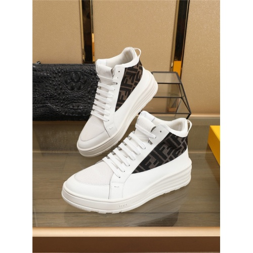 Fendi High Tops Casual Shoes For Men #823476
