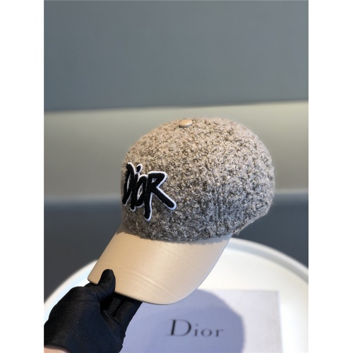 Replica Christian Dior Caps #823477 $34.00 USD for Wholesale