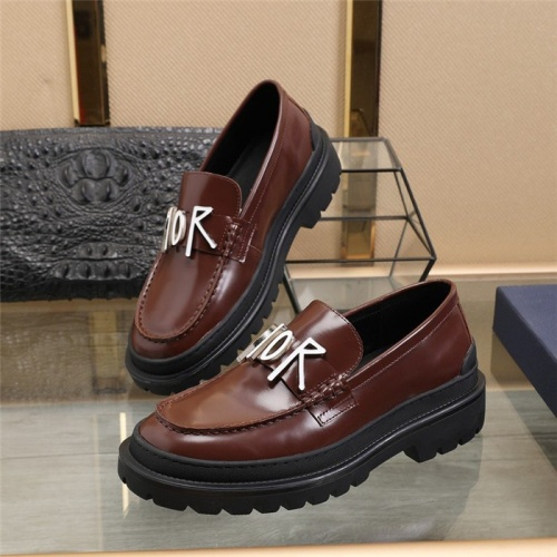 Christian Dior Casual Shoes For Men #823549 $92.00 USD, Wholesale Replica Christian Dior Casual Shoes