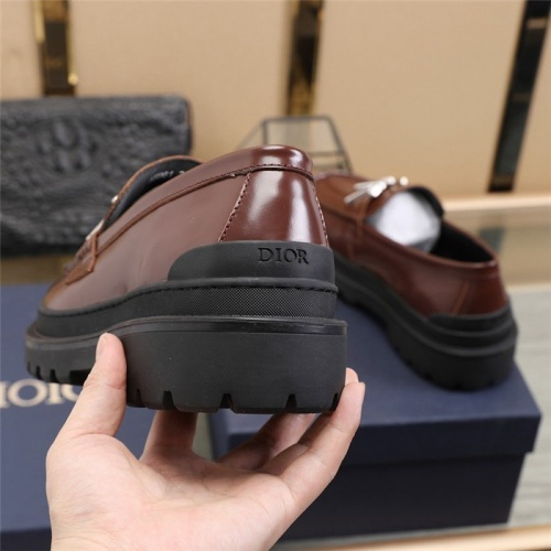 Replica Christian Dior Casual Shoes For Men #823549 $92.00 USD for Wholesale