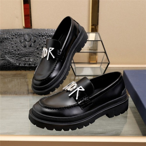 Christian Dior Casual Shoes For Men #823550 $92.00 USD, Wholesale Replica Christian Dior Casual Shoes