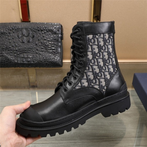 Replica Christian Dior Boots For Men #823559 $96.00 USD for Wholesale