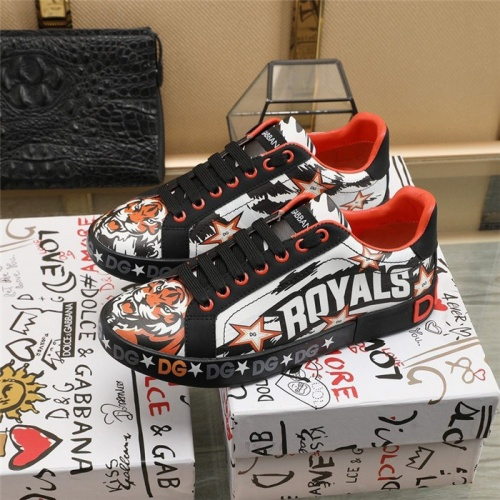 Replica Dolce & Gabbana D&G Casual Shoes For Men #823572 $88.00 USD for Wholesale