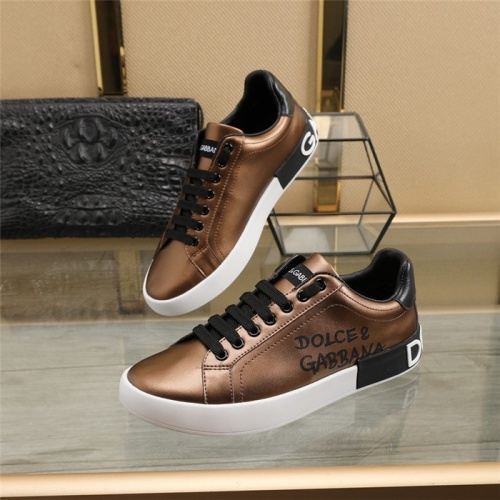 Dolce & Gabbana D&G Casual Shoes For Men #823578
