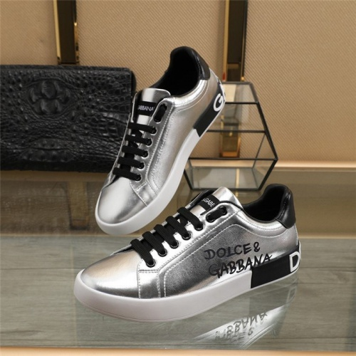 Dolce & Gabbana D&G Casual Shoes For Men #823579