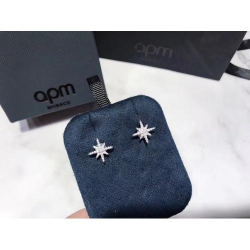 apm Monaco Earrings #823652 $29.00 USD, Wholesale Replica apm Monaco Earrings