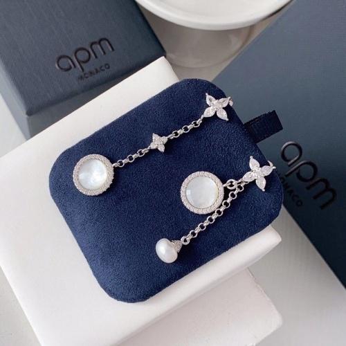 apm Monaco Earrings #823656 $36.00 USD, Wholesale Replica apm Monaco Earrings