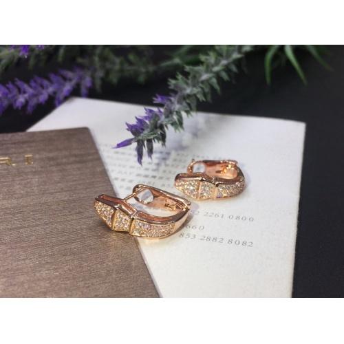 Bvlgari Earrings #823664 $32.00, Wholesale Replica Bvlgari Earrings