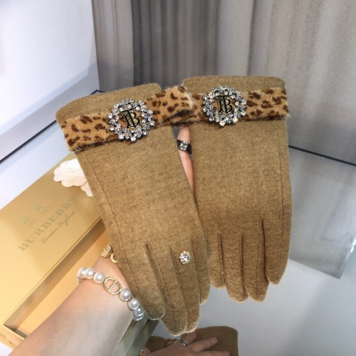 Burberry Gloves For Women #823691 $43.00, Wholesale Replica Burberry Gloves