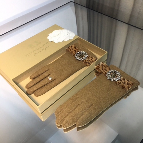 Replica Burberry Gloves For Women #823691 $43.00 USD for Wholesale