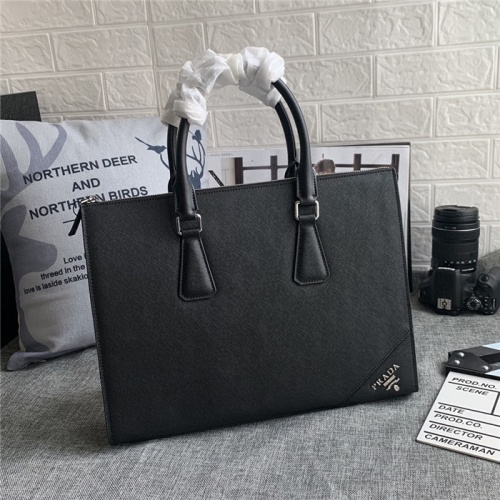 Prada AAA Man Handbags #823737