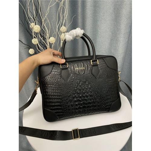 Prada AAA Man Handbags #823739