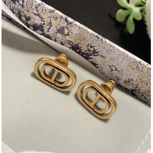 Christian Dior Earrings #823812 $27.00 USD, Wholesale Replica Christian Dior Earrings