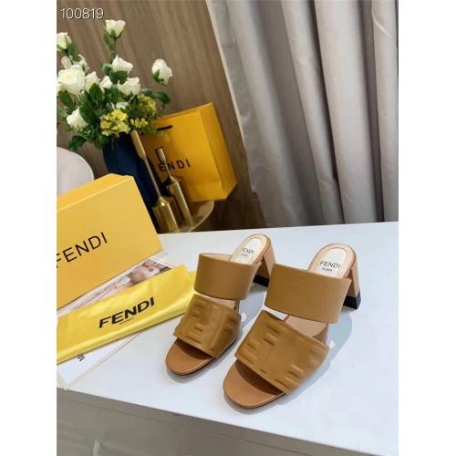 Fendi Sandal For Women #823920