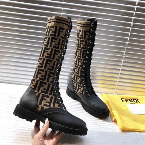 Fendi Boots For Women #823934 $125.00 USD, Wholesale Replica Fendi Fashion Boots
