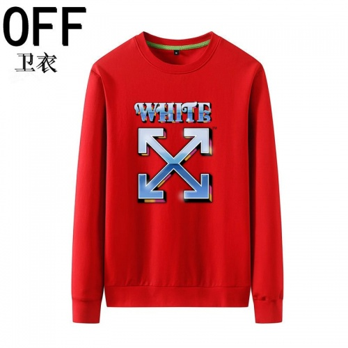 Off-White Hoodies Long Sleeved O-Neck For Men #823979