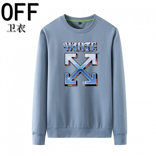Off-White Hoodies Long Sleeved O-Neck For Men #823980