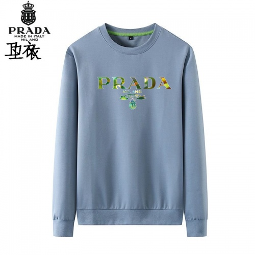 Prada Hoodies Long Sleeved O-Neck For Men #823999