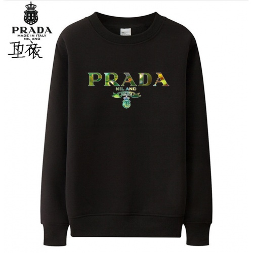 Prada Hoodies Long Sleeved O-Neck For Men #824001