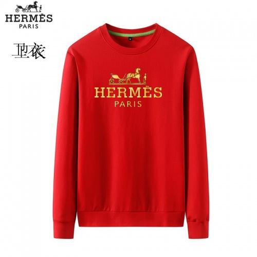 Hermes Hoodies Long Sleeved O-Neck For Men #824016