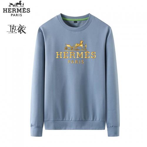 Hermes Hoodies Long Sleeved O-Neck For Men #824017