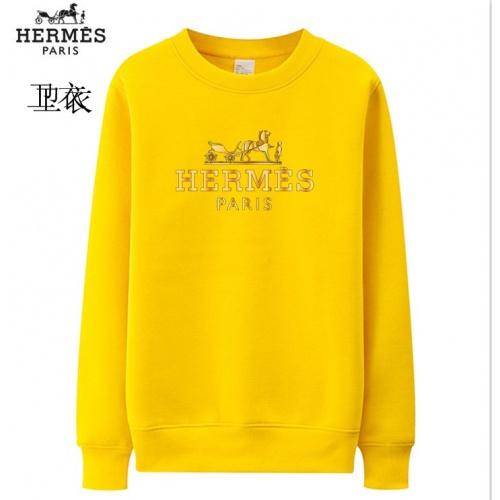 Hermes Hoodies Long Sleeved O-Neck For Men #824018