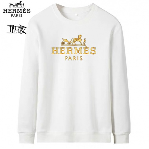 Hermes Hoodies Long Sleeved O-Neck For Men #824021