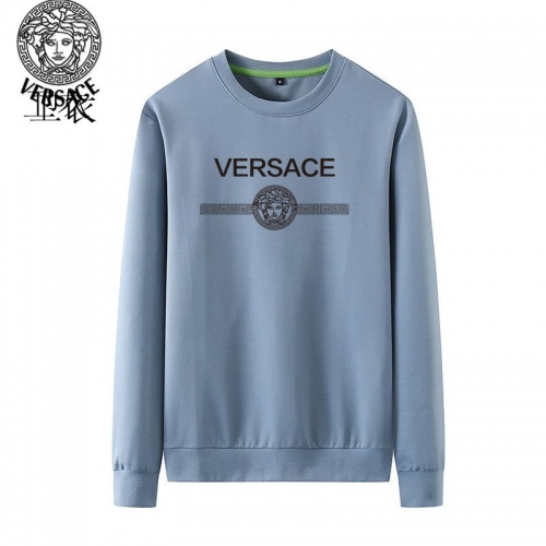 Versace Hoodies Long Sleeved O-Neck For Men #824023