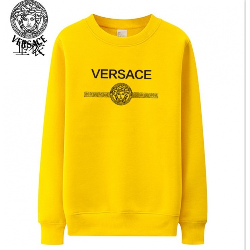 Versace Hoodies Long Sleeved O-Neck For Men #824024