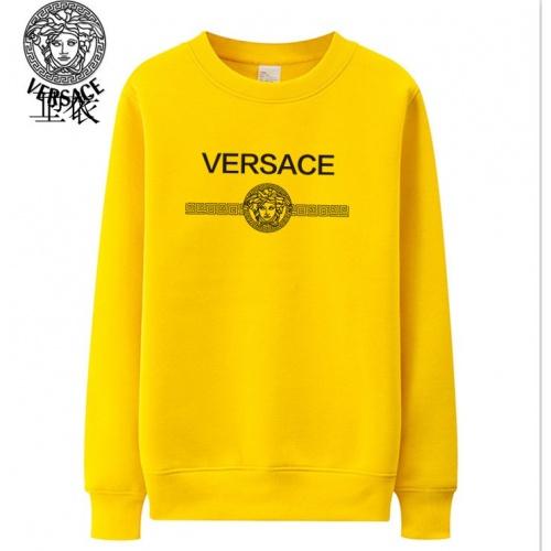 Versace Hoodies Long Sleeved O-Neck For Men #824024