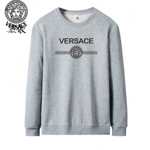 Versace Hoodies Long Sleeved O-Neck For Men #824026