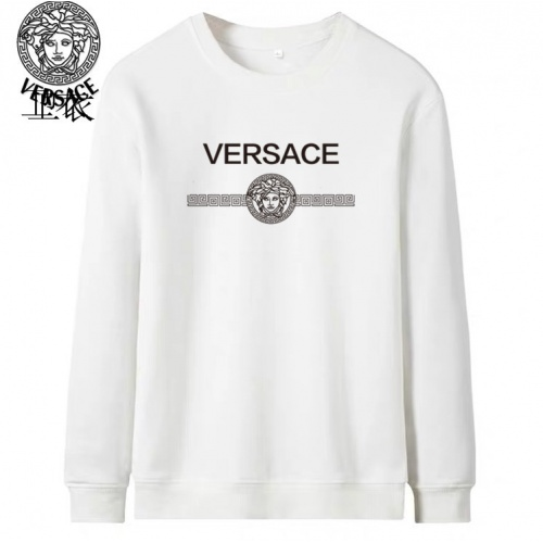 Versace Hoodies Long Sleeved O-Neck For Men #824027