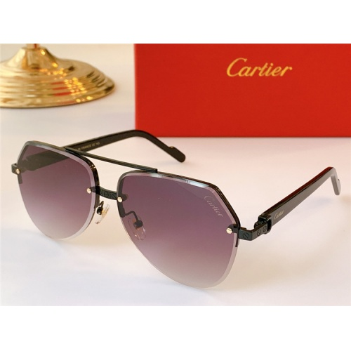 Cartier AAA Quality Sunglasses #824155