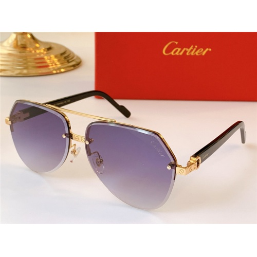 Cartier AAA Quality Sunglasses #824156