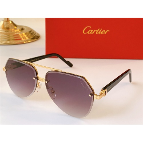 Cartier AAA Quality Sunglasses #824157