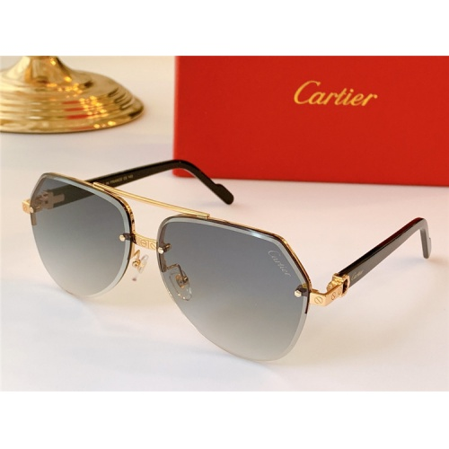 Cartier AAA Quality Sunglasses #824158
