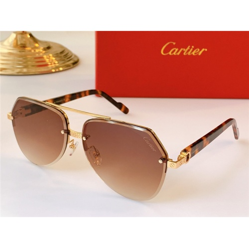 Cartier AAA Quality Sunglasses #824159 $44.00 USD, Wholesale Replica Cartier Super AAA Sunglasses