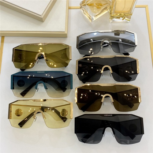 Replica Versace AAA Quality Sunglasses #824191 $73.00 USD for Wholesale