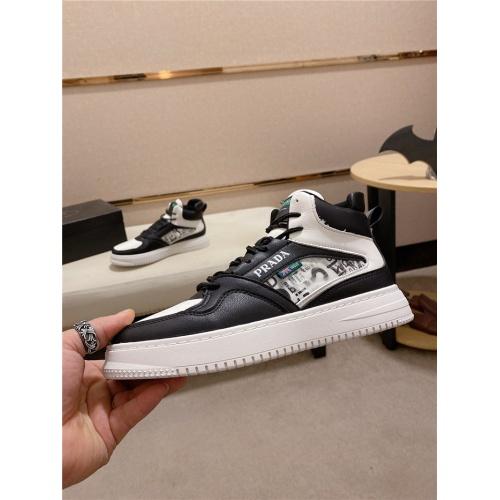 Prada High Tops Shoes For Men #824247