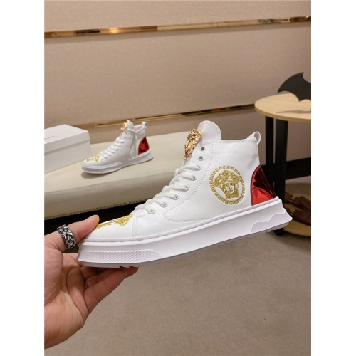 Versace High Tops Shoes For Men #824248