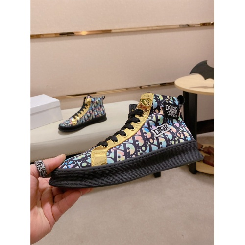 Christian Dior High Tops Shoes For Men #824250