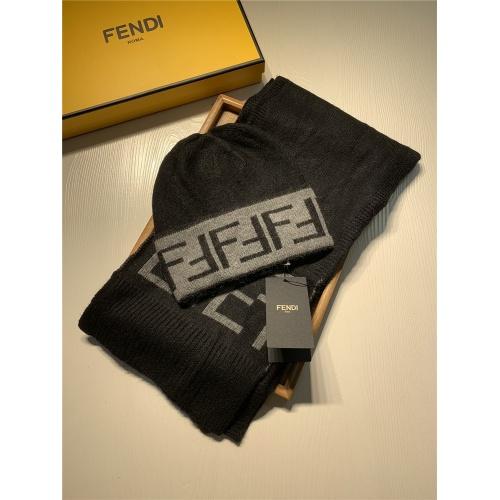Fendi Scarf & Hat Set #824277