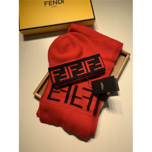 Fendi Scarf & Hat Set #824279