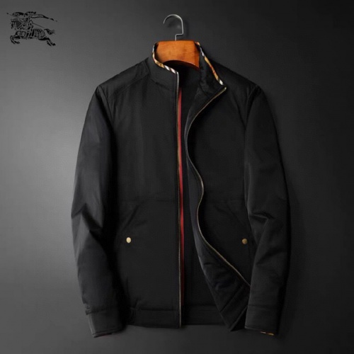Burberry Down Feather Coat Long Sleeved Zipper For Men #824360