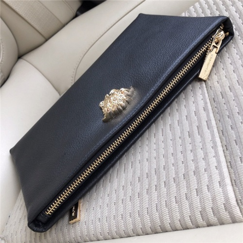 Replica Versace AAA Man Wallets #824378 $52.00 USD for Wholesale